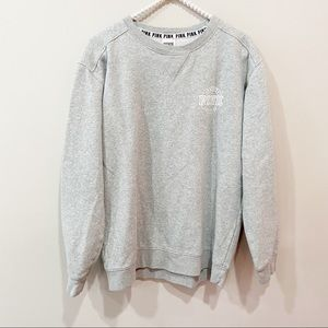 Victoria's Secret PINK Grey Crewneck Sweatshirt